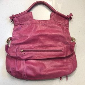 Foley + Corinna Mid City Tote, Crackled Pink